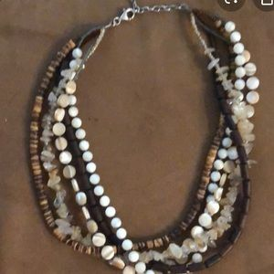 Multi strand necklace from Silpada
